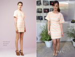 Minka Kelly In Thakoon - 'Almost Human' Press Line: Comic Con 2013