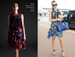 Miranda Kerr In McQ Alexander McQueen - Narita International Airport