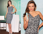 Miranda Kerr In Roland Mouret - 'KORA Organics by Miranda Kerr' Press Conference