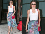 Miranda Kerr In Topshop - Out In New York City
