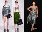 Miroslava Duma In Jason Wu - Armani Privé Fall 2013 Couture Show