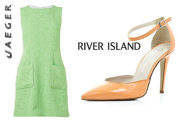 Mollie King Jaeger and River Island