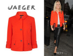 Mollie King's Jaeger Roll Sleeve Short Jacket