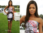 Naomie Harris In Mary Katrantzou - Audi International Polo