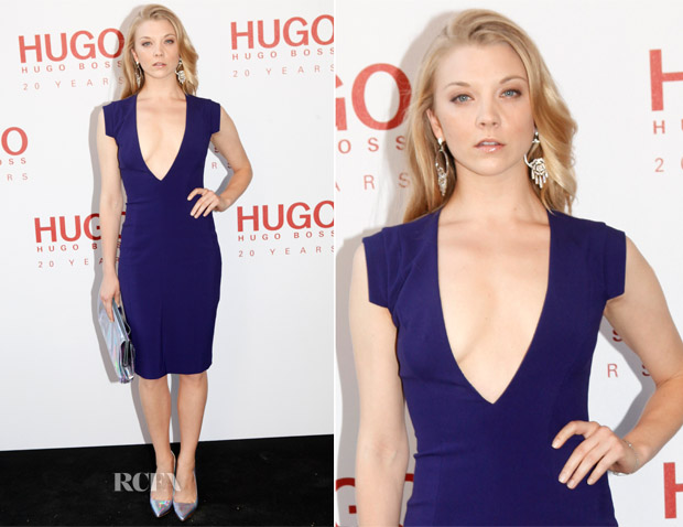 Natalie Dormer In Hugo Boss - 'HUGO Red Never Follows' Private Viewing