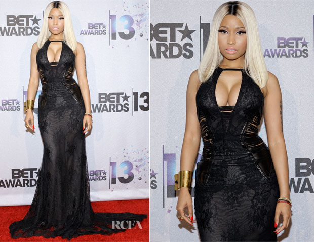 nicki minaj on bet 2013