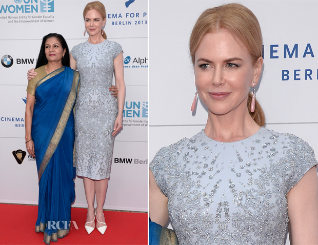 Nicole Kidman In Elie Saab Couture - Cinema for Peace UN Woman Honorary Dinner