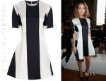 Nicole Richie's Stella McCartney Bold Striped A-Line Dress