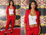 Nicole Scherzinger In Hugo Boss - X Factor Cardiff Auditions