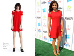 Nina Dobrev In Versus Versace - Variety's Power of Youth