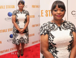 Octavia Spencer In Tadashi Shoji - 'Fruitvale Station' New York Screening