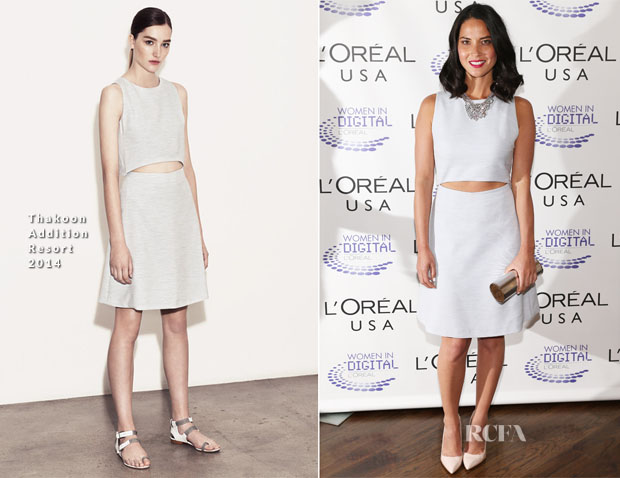 Olivia Munn In Thakoon Addition -L'Oreal USA Women In Digital 'NEXT' Generation Awards