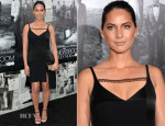 Olivia Munn In Thakoon - 'The Newsroom' Season 2 Premiere