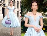 Pace Wu In Ulyana Sergeenko Couture - Bulgari 'High Jewellery Diva' Collection Event