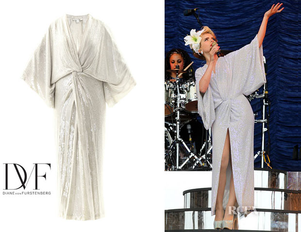 Paloma Faith's Diane von Furstenberg 'Jessi' Dress