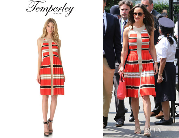 Pippa Middleton's Temperley London 'Alexis' Striped Dress