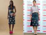 Pixie Geldof In House of Holland  - Fashion Rules Exhibition