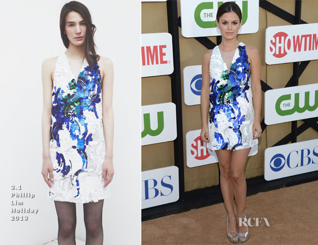 Rachel Bilson In 31 Phillip Lim - CW, CBS And Showtime 2013 Summer TCA Party