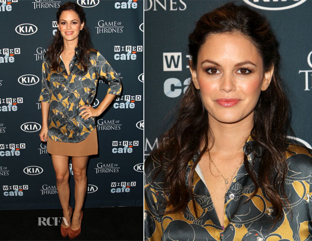 Rachel Bilson In Marc Jacobs - WIRED Cafe At Comic-Con