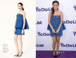 Rachel Bilson In Oscar de la Renta - 'The To Do List' LA Premiere