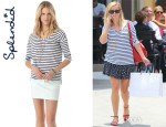 Reese Witherspoon's Splendid 'Miami Stripe' Long Sleeve Tee