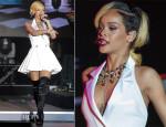 Rihanna In Balmain - 2013 Monte Carlo Sporting Summer Festival