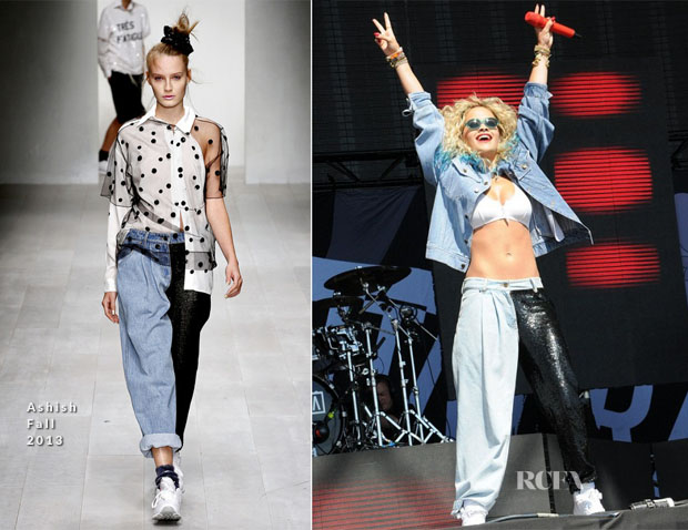 Rita Ora In Ashish - T in the Park
