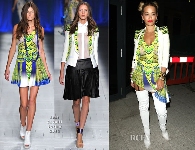 Rita Ora In Just Cavalli - The Scotch Club