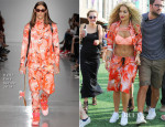Rita Ora In Katie Eary - Yahoo! Wireless Festival Day 2