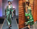 Rita Ora In Vionnet Demi-Couture - Yahoo! Wireless Festival