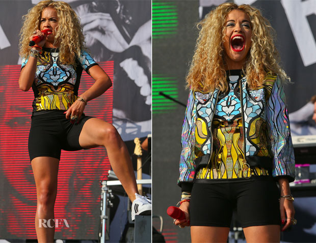 Rita Ora - Yahoo Wireless Festival Day 2
