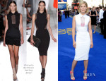 Rosamund Pike In Victoria Beckham - 'The World's End' World Premiere