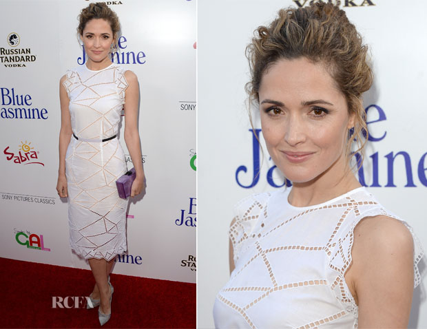 Rose Byrne In Christopher Kane - 'Blue Jasmine' LA Premiere