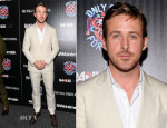 Ryan Gosling In Salvatore Ferragamo - 'Only God Forgives' New York Premiere
