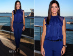 Sandra Bullock In Alberta Ferretti - 'The Heat' Sydney Photocall