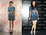 Shu Qi In Calla - Jimmy Choo Store Opening Ceremony