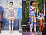 Solange Knowles In Clover Canyon - Pitchfork Music Festival