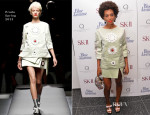 Solange Knowles In Prada - 'Blue Jasmine' New York Premiere