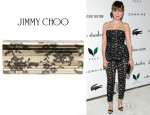 Sophia Bush's Jimmy Choo 'Sweetie' Lace Print Clutch