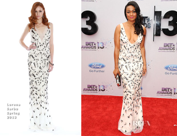 Tatyana Ali In Lorena Sarbu - 2013 BET Awards