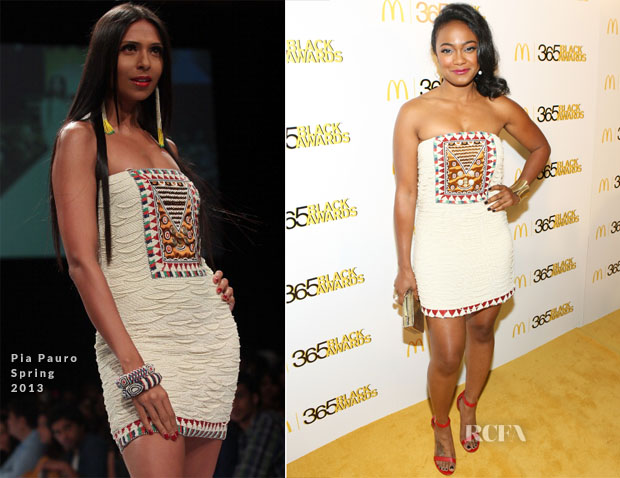 Tatyana Ali In Pia Pauro - 2013 365 Black Awards