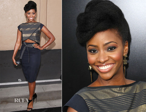 Teyonah Parris In The Hellers - AMC Celebrates The Final Episodes Of 'Breaking Bad' 2