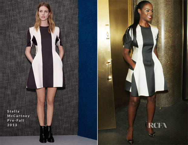 Tika Sumpter In Stella McCartney - 'New York Live