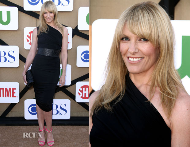 Toni Collette In AllSaints - CW, CBS And Showtime 2013 Summer TCA Party