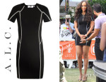 Tyra Banks' A.L.C. Evans Knit Bodycon Dress