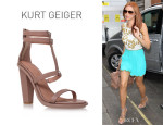 Una Healy's KG Kurt Geiger 'Grow' Sandals