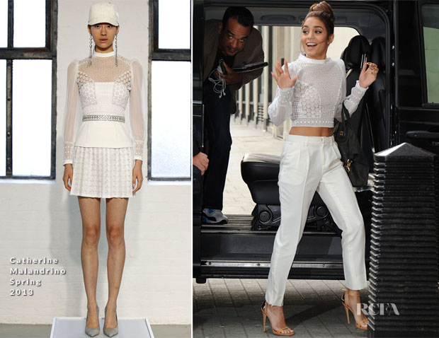 Vanessa Hudgens In Catherine Malandrino - BBC Radio One