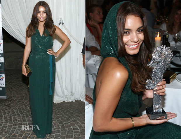 Vanessa Hudgens In Diane von Furstenberg - Ischia Global Film Festival Awards Dinner
