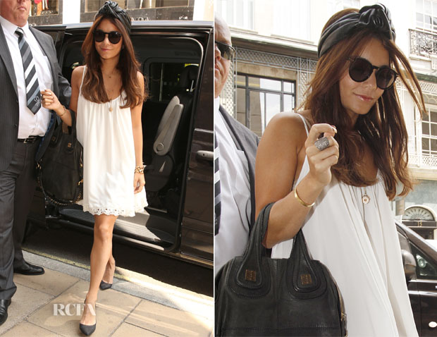 Vanessa Hudgens In Lovers + Friends - Shopping In London