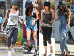 Vanessa Hudgens Loves Her...ASOS Leather Cap